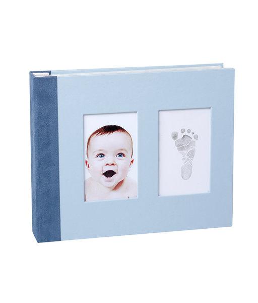 Baby Memory Print   Рамка - книга синя 075
